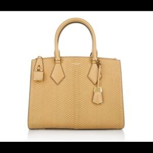 Michael Kors Casey Large Snake Leather Bag